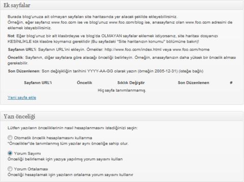 Wordpress için XML Site Haritası Oluşturucusu 3